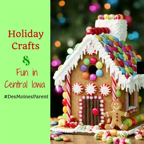 gingerbread house decorations crafts in central iowa