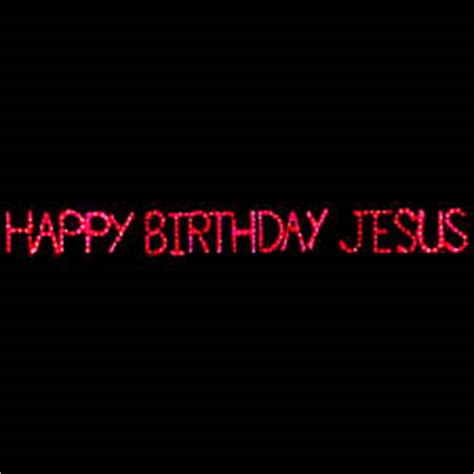 happy birthday jesus lights lighted happy birthday jesus