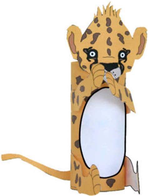 cheetah crafts for cheetah cub craft