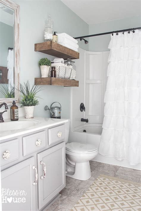 Bathroom Makeovers Cost by Modern Farmhouse Bathroom Makeover Reveal