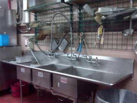 restaurant kitchen sinks mcdonald s employee takes bath in kitchen sink