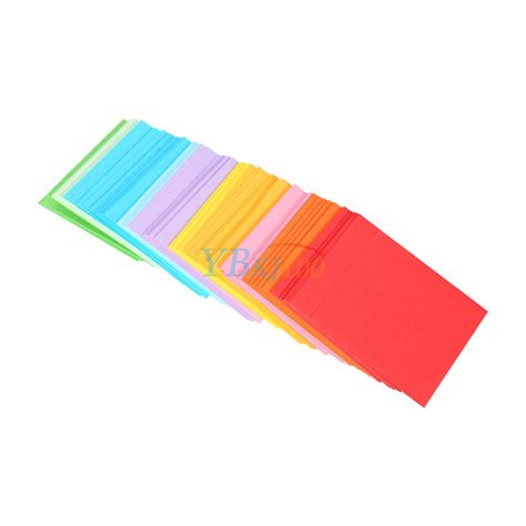 colored craft paper 520 pcs square sided colored origami folding lucky