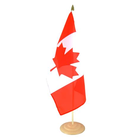 wooden canada large canada table flag wooden 12x18 quot royal flags