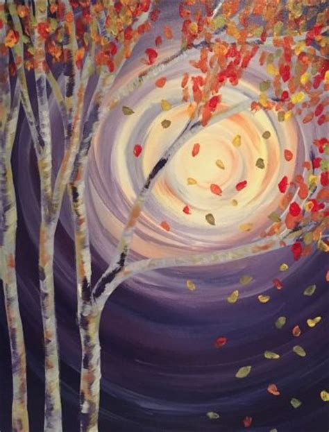 1000 Ideas About Autumn Painting On Paintings