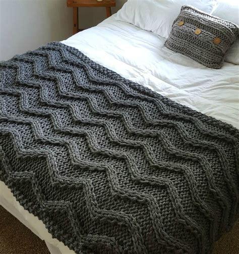 how to knit a large blanket de 25 bedste id 233 er inden for knitted afghans p 229
