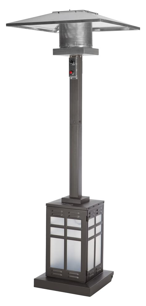 sense mocha patio heater sense square mocha illuminated patio heater outdoor