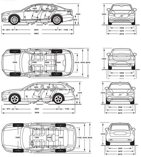 Volvo Xc60 Dimensions by Volvo V60 Boot Dimensions 2018 Volvo Reviews