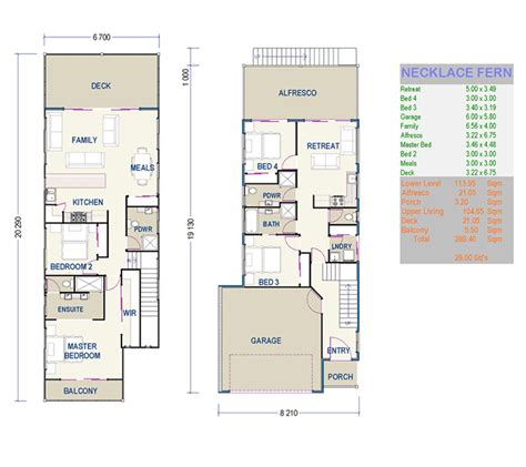 small house plans for narrow lots beautiful small duplex house plans 7 small narrow lot