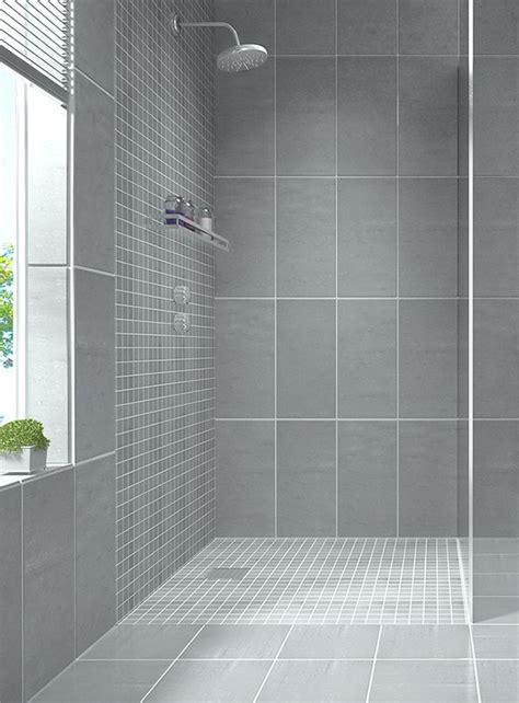 modern gray tile bathroom best 25 modern bathroom tile ideas on white