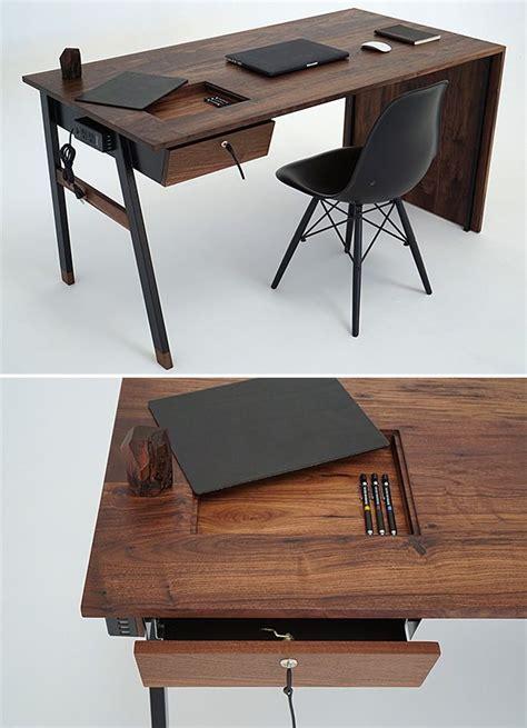 wood office desk 25 best ideas about wooden desk on desk space