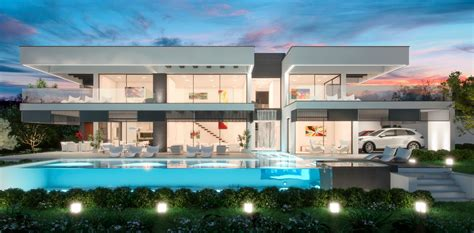 moderne villa villas modernes maisons contemporaines immobilier de luxe