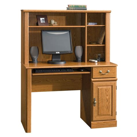 home office furniture computer desk sauder orchard computer desk table w hutch drawer