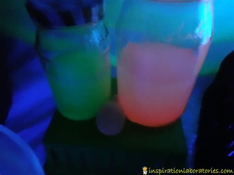 glow in the paint mixed with water science lab inspiration laboratories