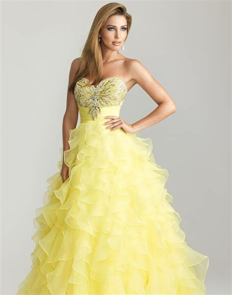 prom dress asian hairstyles yellow prom dresses can flaunt