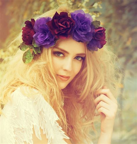 flower crown flower crown festival inspiration the fashion supernova