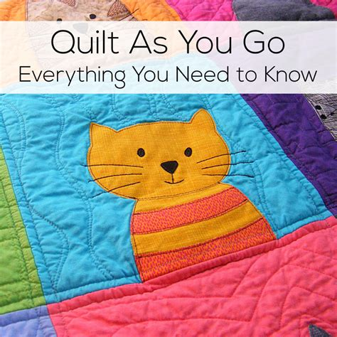 quilt as you go quilt as you go everything you need to shiny
