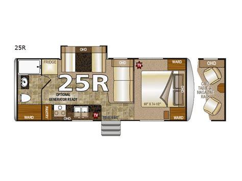 arctic fox travel trailer floor plans new northwood arctic fox 25r travel trailer for sale