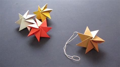 origami tree decorations how to origami ornament クリスマスオーナメント