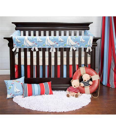 baby crib rail protector glenna jean set sail crib rail protector
