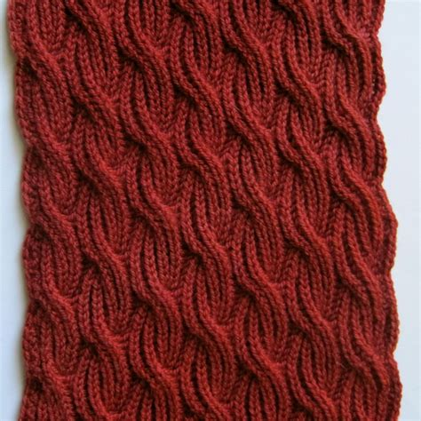 knitting design knit scarf pattern brioche cabled turtleneck scarf knitting