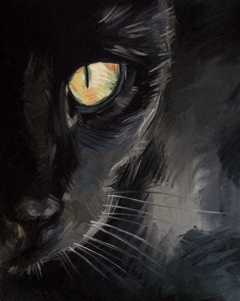 black cat painting designs paintings from the cat painting black cat eye