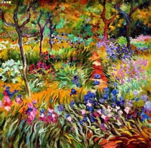 Der Garten Claude Monet In Giverny by Claude Monet Monet 180 S Garten In Giverny E82939 60x60cm