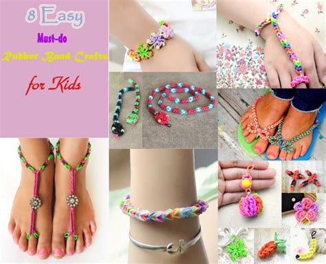 rubber band crafts for 8 easy must do rubber band crafts for tip junkie
