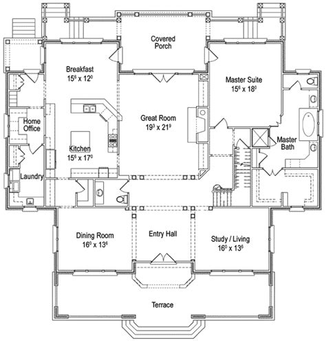 floor plans for country homes classic country home plan 56144ad 1st floor