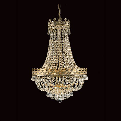 lead chandeliers impex st03016 45 08 g lead strass empire chandelier