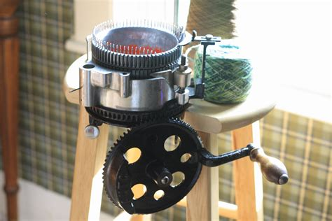 Crank Sock Knitting Machine Images