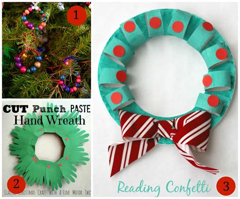 wreath craft for 7 wreath crafts for plus the weekly co op link