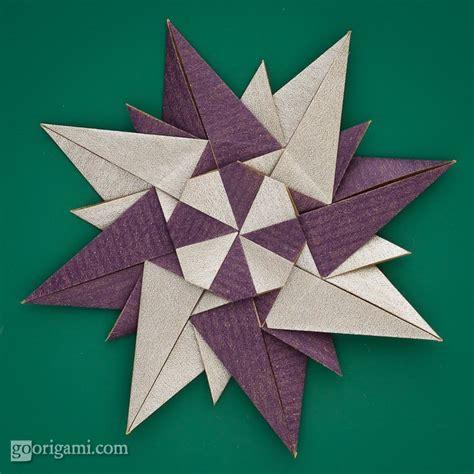 rosa de origami rosa dei venti by paolo bascetta modular origami
