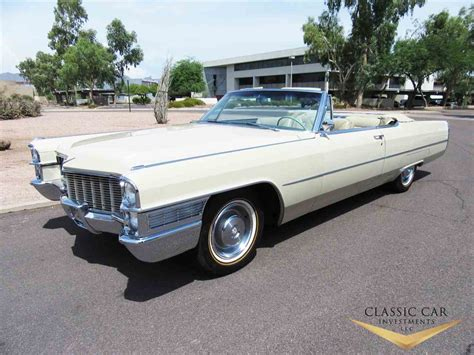 1965 Cadillac Convertible For Sale by 1965 Cadillac For Sale Classiccars Cc 1005176