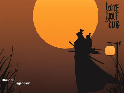 lone wolf and cub lone wolf and cub wallpaper lone wolf and cub