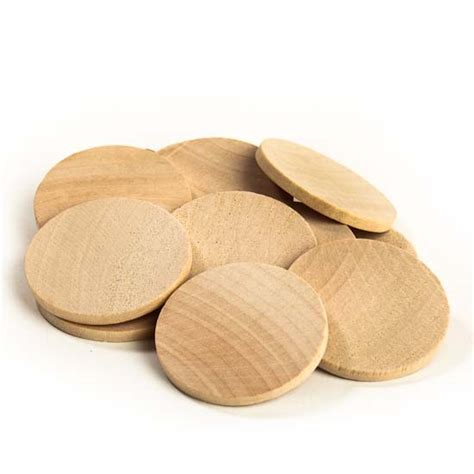wooden disc unfinished wood disc cutouts basic shape cutouts