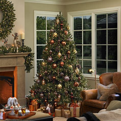 how to decorate a real tree how to choose trees for from better homes