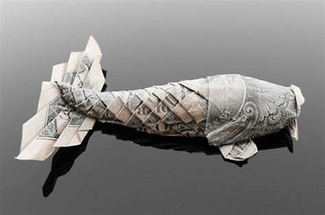 dollar bill origami koi gorgeous dollar bill origami 35 pics izismile