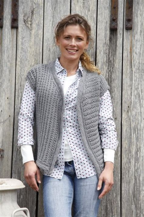 knitting pattern for waistcoat artesano waistcoat knitting