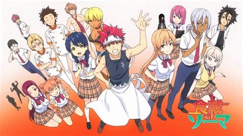 food wars review shokugeki no soma food wars vol 8 three if by