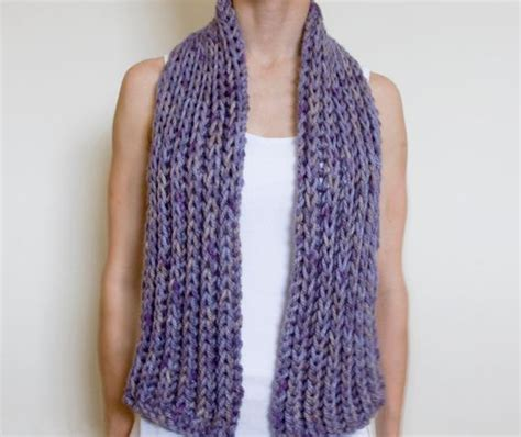 chunky knit scarf pattern free chunky scarf knitting patterns crochet and knit
