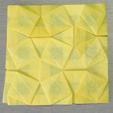 origami tessellations awe inspiring geometric designs むつぞう む