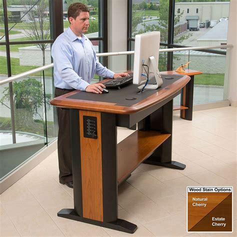 desk standing standing computer desk 2 caretta workspace