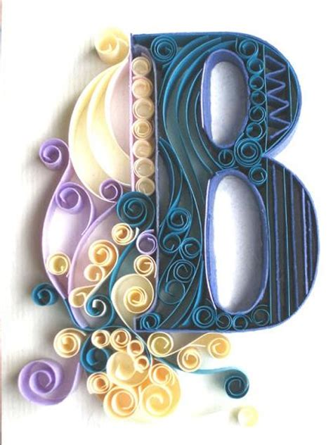 paper craft letters 14 best photos of quilling letters and other designs