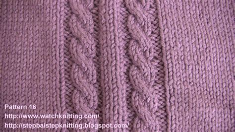 cable stitch knitting knitting models cable stitch