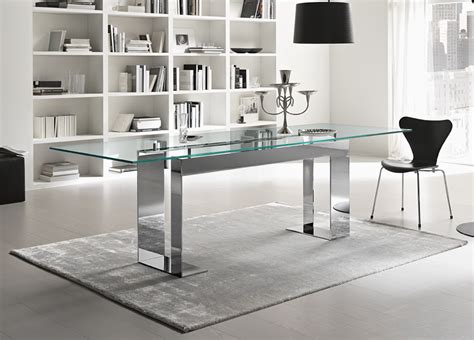Tonelli Miles Glass Dining Table   Glass Dining Tables   Tonelli Design
