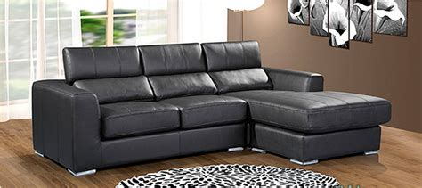 Small Black Corner Sofa by Pin Leather Corner Sofa Bed With Storage In Black Brown Or