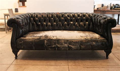 used leather chesterfield sofa chesterfield leather sofa used vintage leather