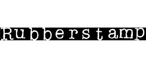 rubber st font free a up of 40 free typewriter fonts blueblots