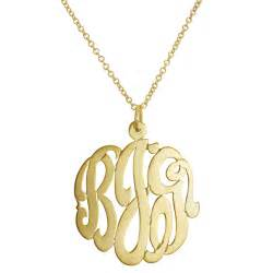 how to make monogram jewelry monogram necklaces for ship date susans