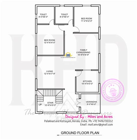 how to design floor plans wide flat roof house with floor plan kerala home design and floor plans